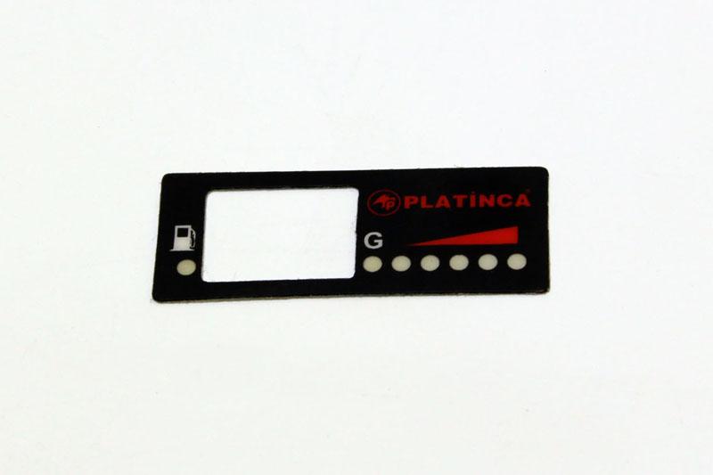 gaz etiketi pvc etiket özel kesim serigrafi baskı platinca